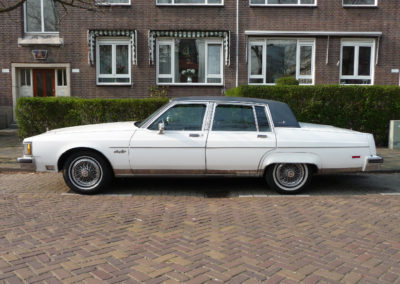 Schuurvondst! Oldsmobile Ninety Eight Regency Brougham (1983)