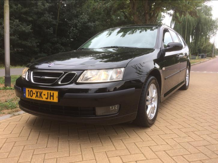 Saab 9-3 1.8 Sport Estate 2007 Zwart