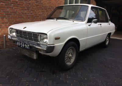 Mazda 1300 uit 1970 krijgt een wankelmotor