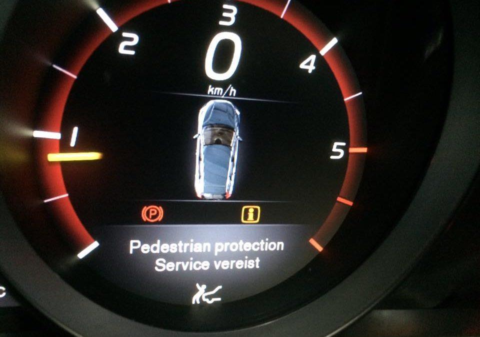 Airbagstoring bij een Volvo V40 uit 2014