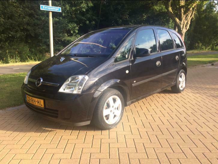 Opel Meriva 1.4 16V maxxcool 2005 Zwart