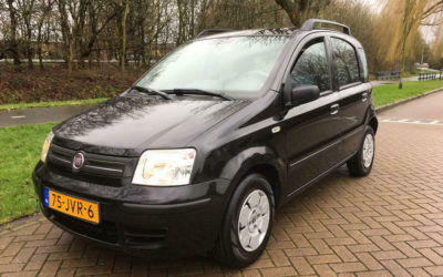Fiat Panda 1.2 Euro3 2009 Zwart